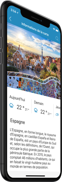 Carte Espagne Hors Ligne.Espagne Carte Hors Ligne Iphone Ipad Android