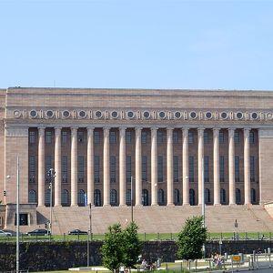 Здание Парламента Хельсинки