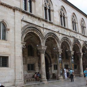 Княжеский дворец в Дубровнике