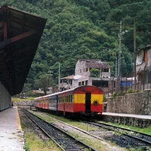 Machu Picchu Railway Station