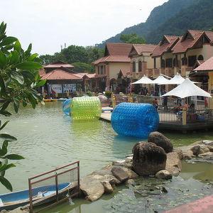 The Oriental Village market