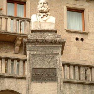Памятник Джузеппе Гарибальди