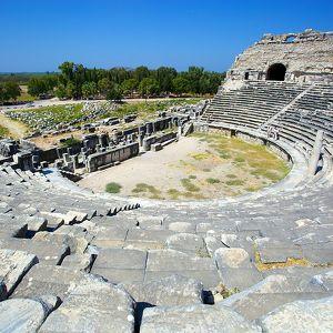 Руины древнего Милета