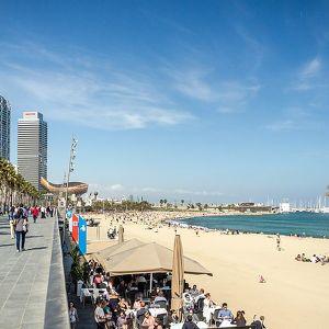 Barcelona embankment