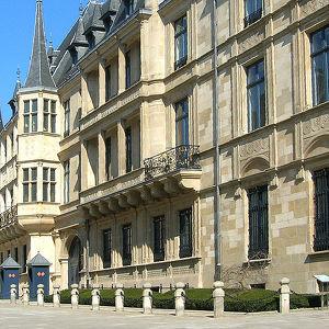 Большой герцогский дворец в Люксембурге