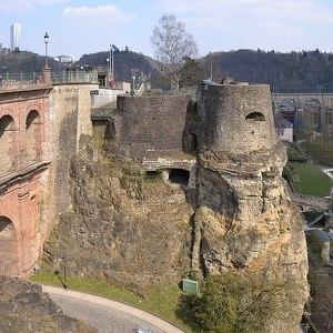 Крепость на скале Бок