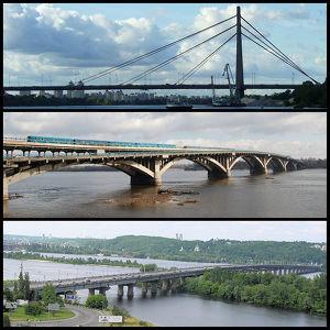 Bridges in Kiev