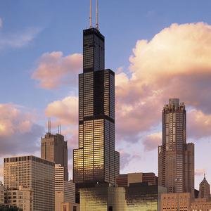 Небоскреб Sears Tower (Willis Tower)