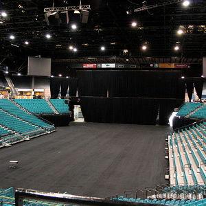 Спортивная арена MGM Grand Garden