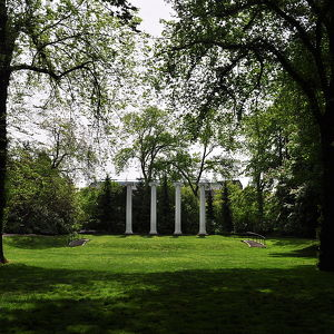 Sylvan Grove Theater and Columns