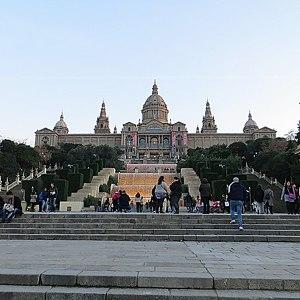 Национальный дворец и музей искусств Каталонии