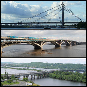 Bridges in Kiev