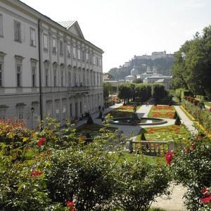 Парк дворца Мирабель