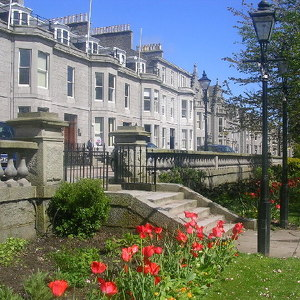 Rubislaw and Queens Terrace Gardens