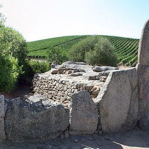 Giants' grave of Coddu Vecchiu