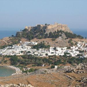 Древний город Линдос