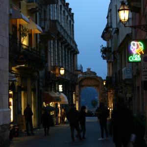 Улица Корсо Умберто I в Таормине