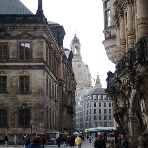 Старый город Дрездена