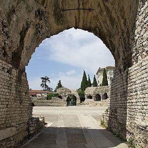 Roman Amphitheater in Nice