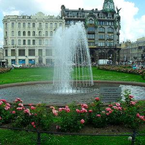Kazan Square in St. Petersburg