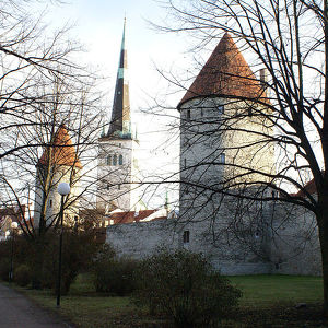 Таллинская городская крепостная стена