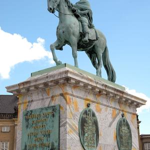 Frederik V on Horseback