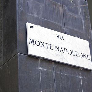 Улица Виа Монтенаполеоне