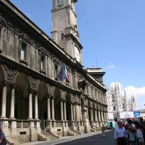 Пешеходная улица Виа Мерканти
