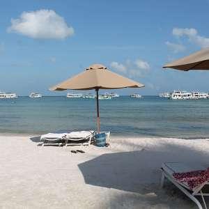 Пляж Бай Сао у ресторана Paradiso