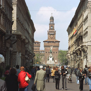 Улица Данте